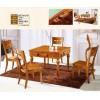 美佳居橡木餐桌椅可做麻将台102 103