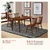 艺森家具橡木餐桌椅1801 1802 1803