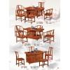 温氏茶具非洲花梨木 实木茶桌椅 茶台椅210 212 213