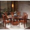卓然出众家具 香樟木餐桌椅 实木餐桌椅